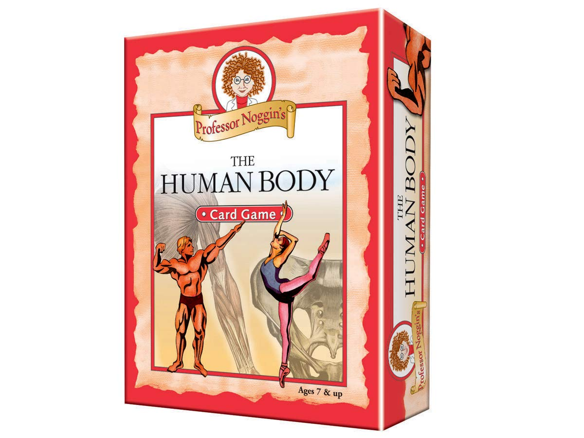Amazon Professor Noggins Human Body A Educational Trivia