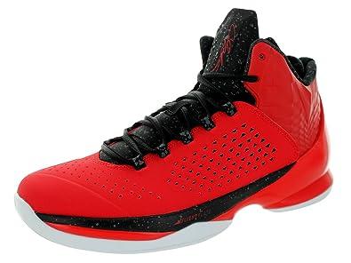 save off 6abd2 ecf3e Nike Jordan Mens Jordan Melo M11 University Red Black Black Wht Basketball  Shoe