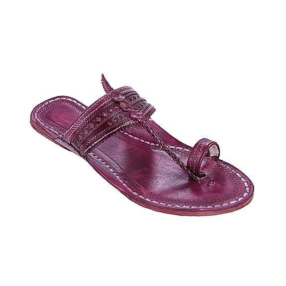 Original Stunning Purple For Men Slipper Sandal