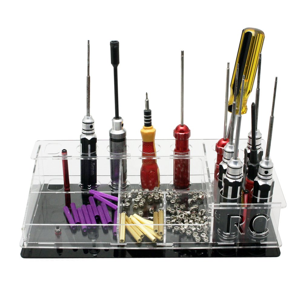 RC Screwdriver Rack Hex Screwdriver Stand for FPV Tool Kits Screw Driver Storage Rack