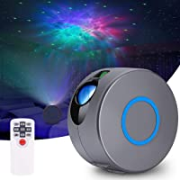 Galaxy Projector, JFMShop Star Projector with LED Nebula Cloud, Laser Star Light Projector with Remote Control for Kids…