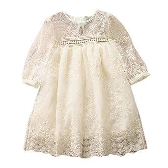 b4e654f9b Vestidos de cumpleaños de princesa para niñas ceremonia manga corta ...