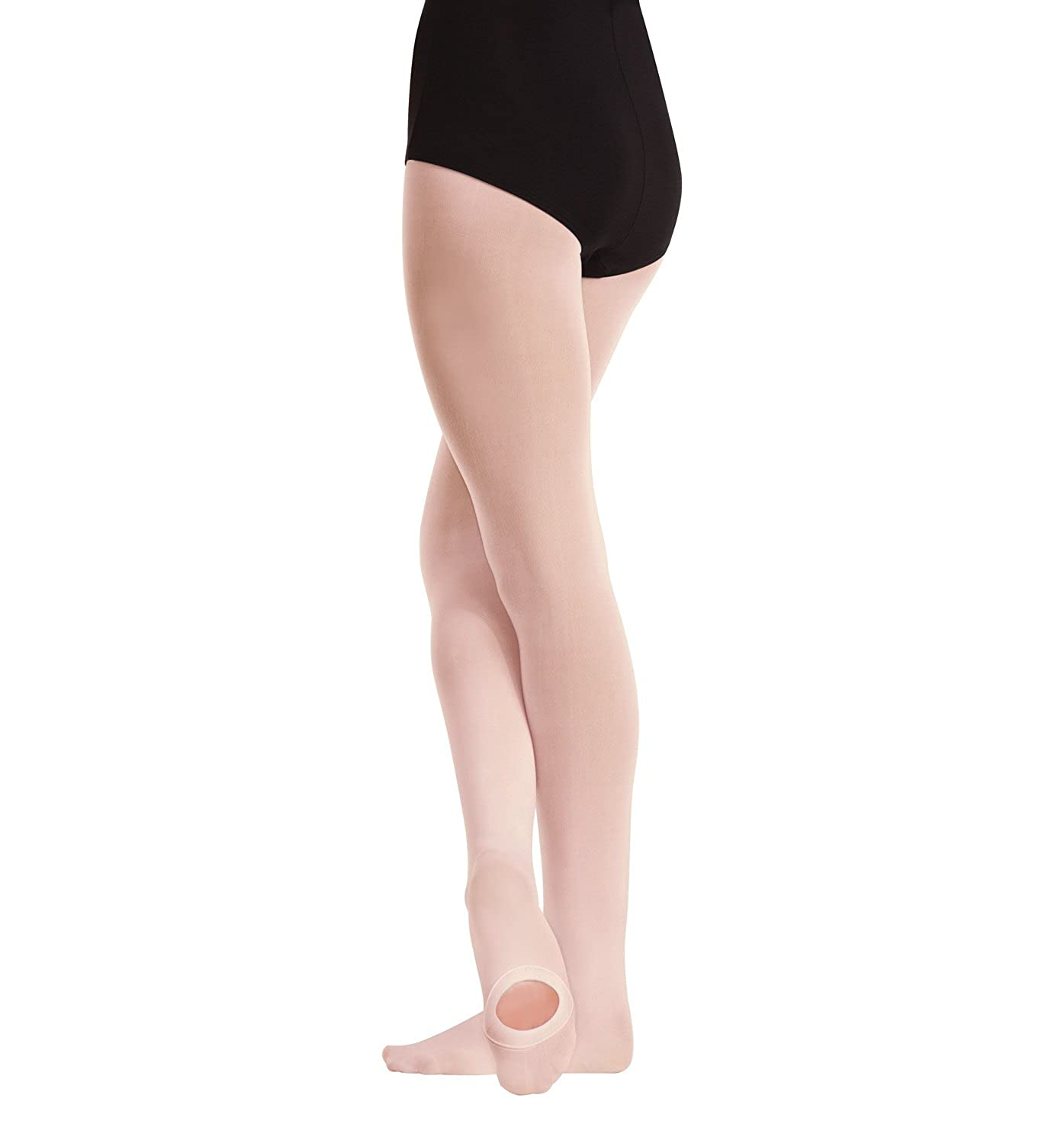 a325bd220a7e4 Amazon.com: Body Wrappers Women's Convertible Tights - A81: Clothing