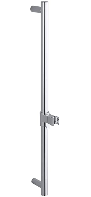 inch shower slide bar polished chrome kohler devonshire essentials system in oil rubbed bronze reviews systems canada