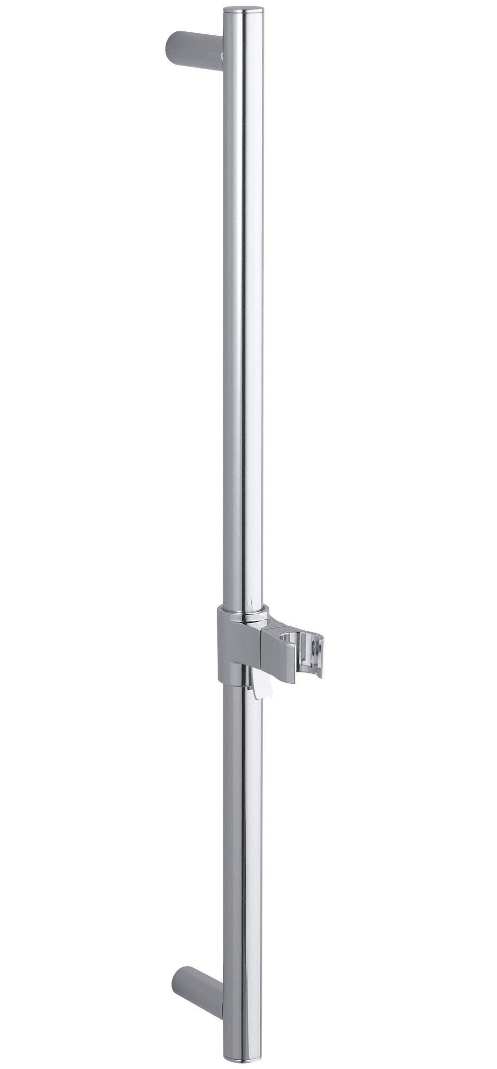 Kohler K-9069-CP 24-Inch Shower Slide Bar, Polished Chrome by Kohler