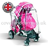 Supersoft PVC Raincover for The Redsbaby Jive Tandem Made in The UK