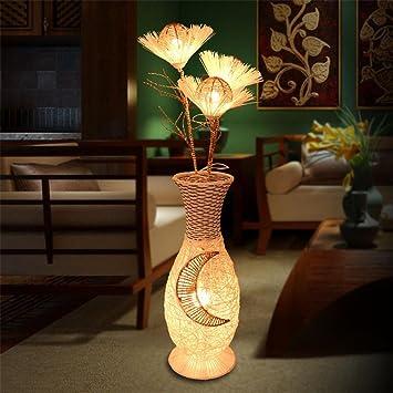 GMM® Stehlampen LED Schlafzimmer senkrecht Bambus Moderne Kunst ...