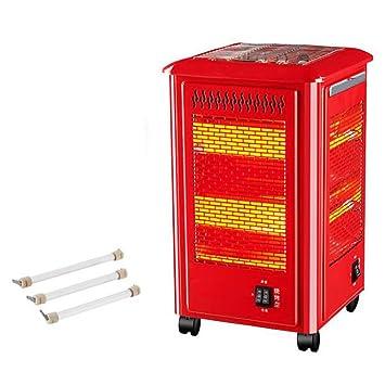 Calentador Eléctrico/Estufa de Parrilla de Cinco Lados/Calentador Eléctrico de Oficina Portátil/se Puede Usar Para Asar: Amazon.es: Hogar