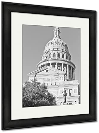 Amazon.com: Ashley Framed Prints Austin Capitol Building, Wall Art ...