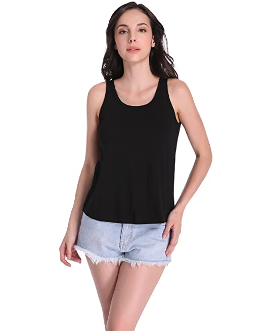 ZANZEA Prenda sin Mangas Mujer Tank Tops Camiseta Deporte Blusas Casual de Moda 2017 Negro ES