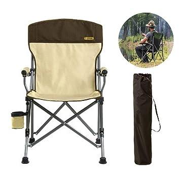 DASGF Silla De Camping Plegable,Silla De Playa Plegable ...