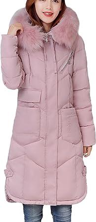 2018 Femmes hiver chaud à capuchon Veste longue fourrure