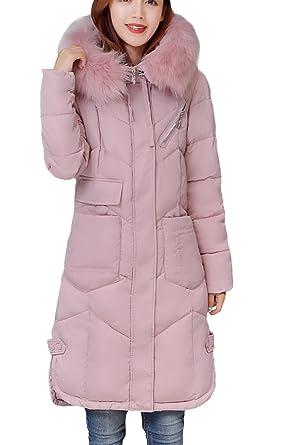 Manteau Doudoune Capuche Femme Avec Veste Vogue Fourrure Longue La 4xqAfw