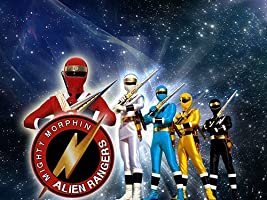 Mighty Morphin Alien Rangers - Season 1
