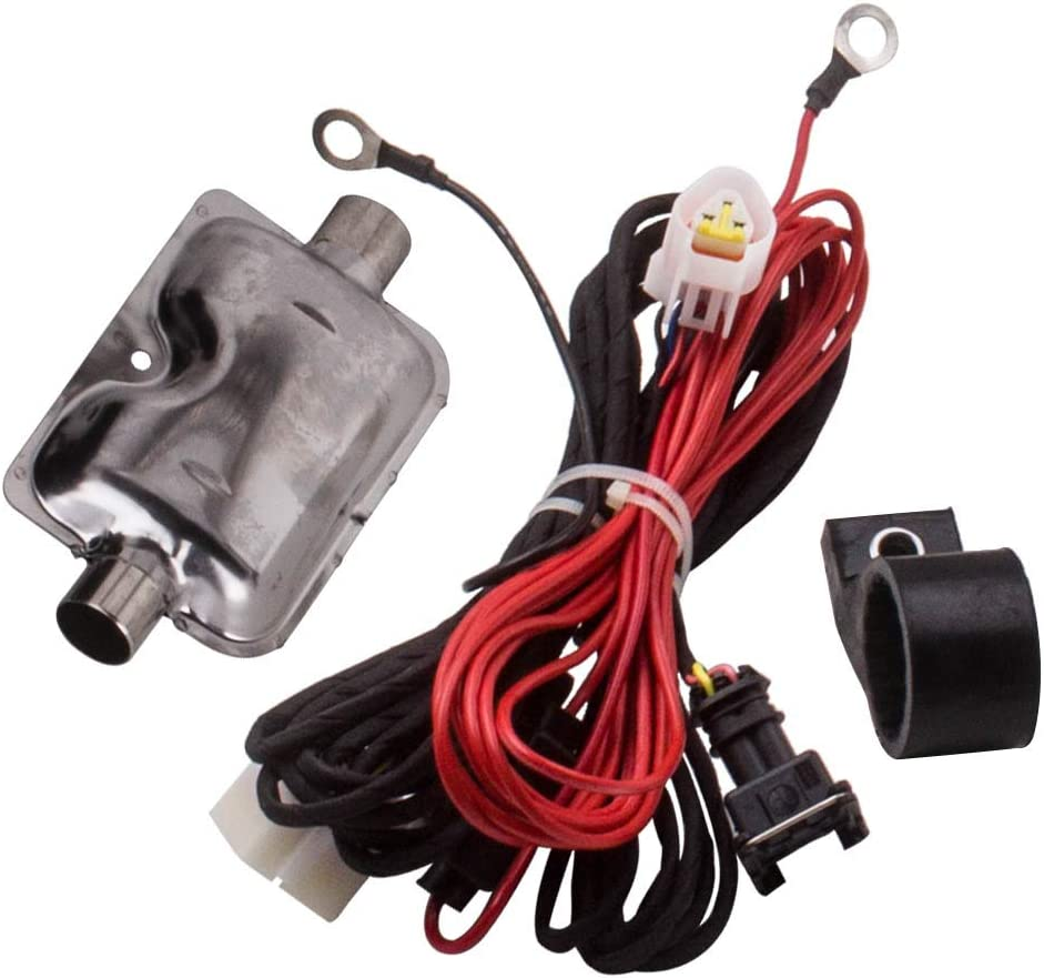 Remote Control All in 1 for Caravan Trucks Campers Boat 4 Holes maXpeedingrods 12V 2KW-5KW Air Diesel Heater LCD Switch