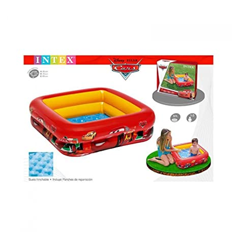 Intex 1703496031 - piscina hinchable cars 18m+: Amazon.es: Bebé