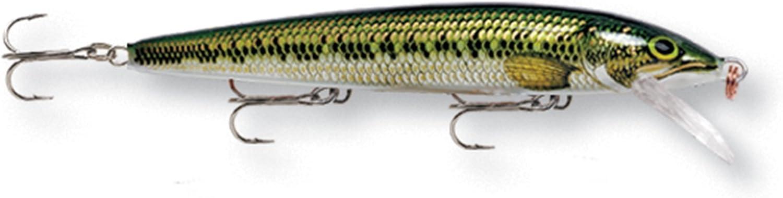 "RAPALA HUSKY JERK HJ14 S SILVER 5.5/"" 5//8 OZ SWIM DEPTH 4/'-8/' FISHING LURE"