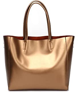 836635cb08 Amazon.com  Covelin Women s Handbag Genuine Leather Tote Shoulder ...