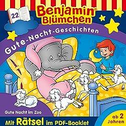 Gute Nacht im Zoo (Benjamin Blümchen Gute-Nacht-Geschichten 22)
