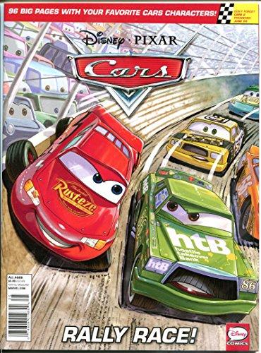 Disney CARS MAGAZINE #1, NM, Rally Race, Pixar, 2011, more Disney in store