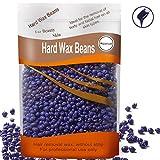 Auperwel Hard Wax Beans Hard Body Wax Beans, Hair Removal Brazilian Pearl Depilatory Wax European Beads for Women Men 300g/10oz (Lavender)