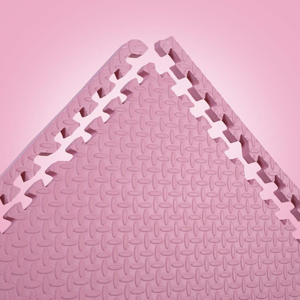 Rose 8 piece LFY Tapis de Jeu Puzzle en Mousse Couleur Unie pour Enfants - voiturereaux (Couleur   Marron, Taille   8 Piece)