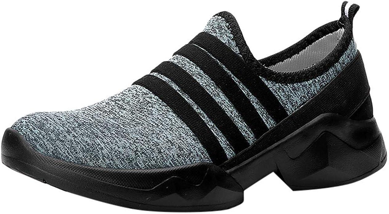 Zapatillas de Deporte para Mujer con Dedos Redondos, Transpirables, Planas, para Exterior, Malla, Casual, par de Zapatos, Color Azul, Talla 39 EU: Amazon.es: Zapatos y complementos