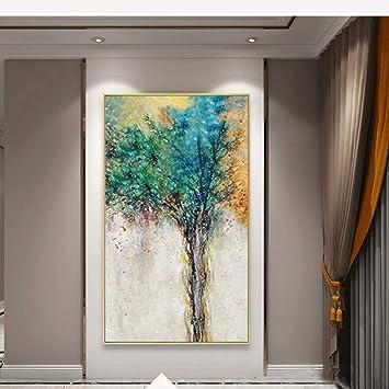 QZHS Dipinto ad olio dipinto a mano New Decorative Art 100 ...