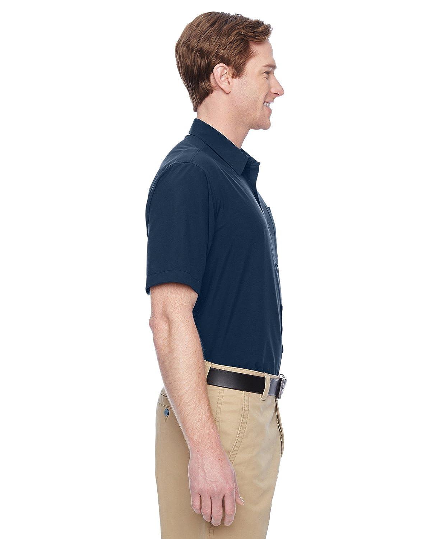 Harriton M610S Mens Paradise Short-Sleeve Performance Shirt
