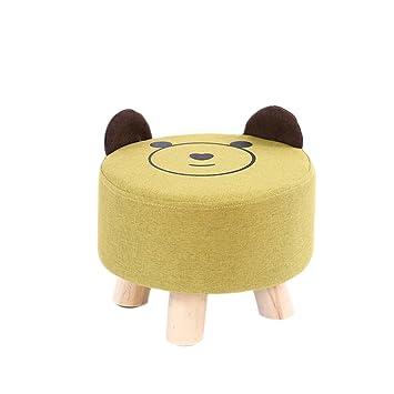 Ändern Sie Schuhbank Round Fashion Kinderhocker Kreative Wohnzimmer Sofa  Bank Einfache Moderne Cartoon Hocker Home Bank