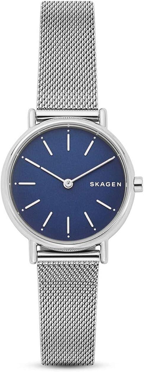 Skagen Reloj Analogico para Mujer de Cuarzo con Correa en Acero Inoxidable SKW2759