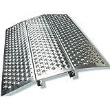 Rampa De Aluminio Para El Umbral, Accesible Para Sillas De Ruedas, Scooter, Rampa De Acceso, Muy Buena Calidad, Fácil De…