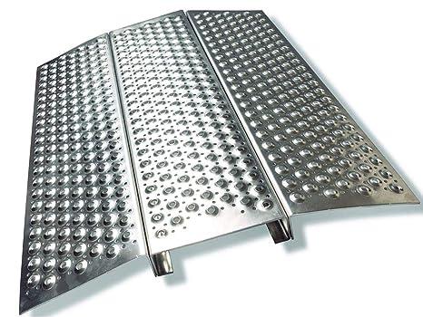Rampa de silla de ruedas Rampa de silla de ruedas Aluminio Longitud 700 x anchura 600
