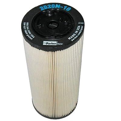 2020N-10 Parker Racor Fuel Filter Element (Pack of 2): Automotive