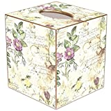 TB710 - French Watercolor Tissue Box Cover