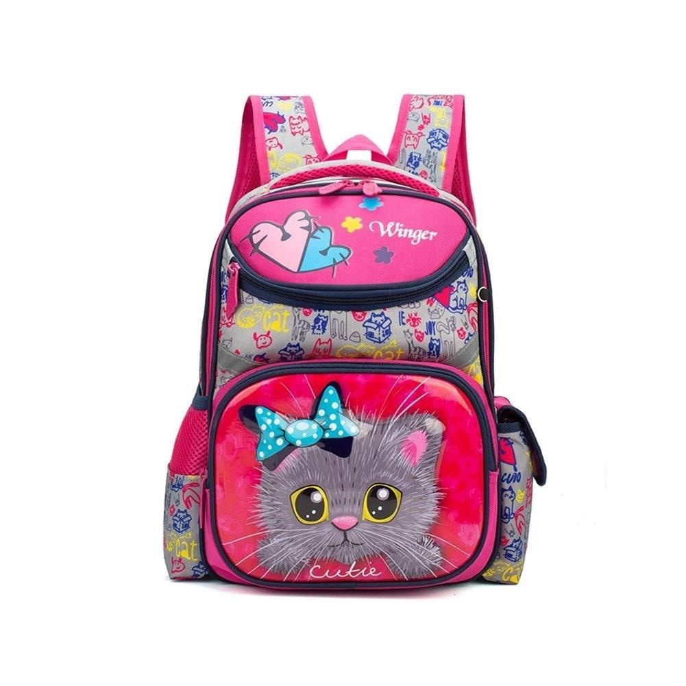 C 10.26.213.7 inch MUZIWENJU Oxford Cloth Backpack, School Bag, Cute Cartoon Pattern, Medium hiking backpack