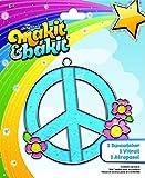 Colorbok TB-66599 Makit and Bakit Suncatcher Kit, Peace Sign