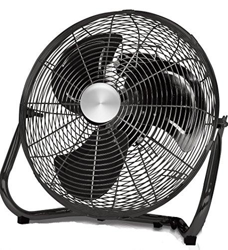 Black Floor Fan : South eagle inch performance high velocity floor fan ef