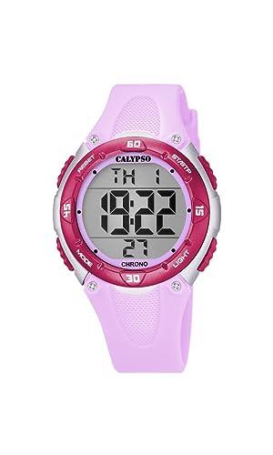 Calypso Reloj Digital para Unisex de Cuarzo con Correa en Plástico K5741/2: Amazon.es: Relojes