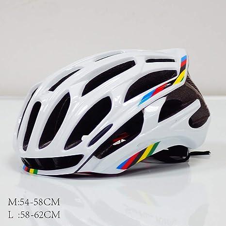 COKECO Casco Bicicleta, Protección de Seguridad Ajustable Deporte ...