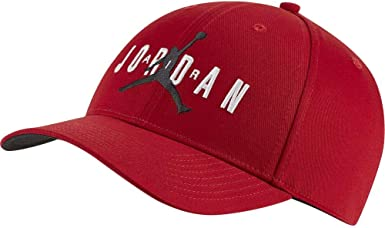 Jordan Gorra Legacy 91 Jumpman Air Rojo Ajustable: Amazon.es: Ropa ...
