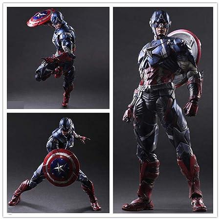 Action Figure Capitán América Modelo Anime, Juguetes De ...
