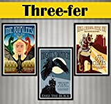 Game of Thrones - 3 Recruitment Posters - 11x17