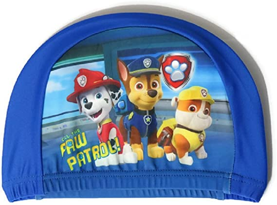 Nickelodeon Paw Patrol Boys Swimming Hat Age 3-11 Dark Blue Official Licensed Product by eshop7