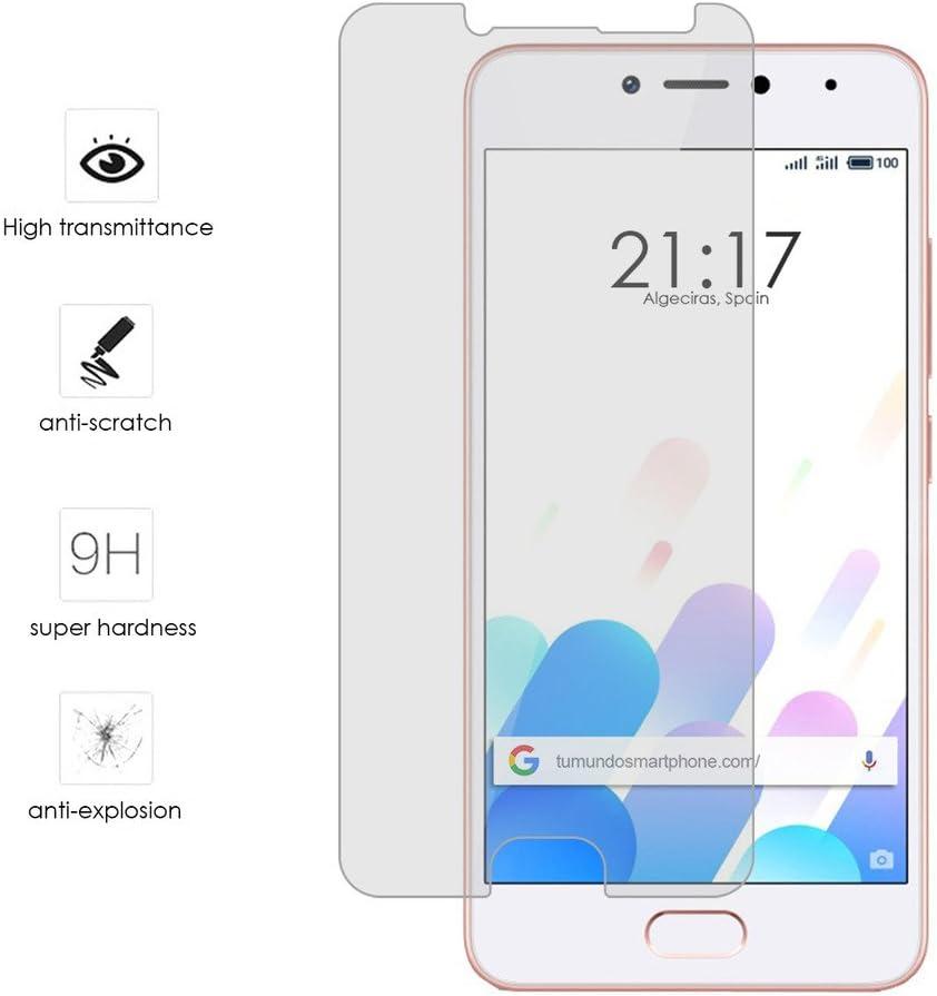 Tumundosmartphone Protector Cristal Templado para MEIZU M5C ...