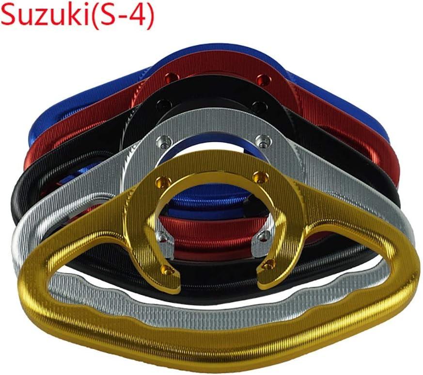 Color : Azul ZHENDA Para Suzuki GSXR400 600 750 1000 1100 SV650 CNC Aluminio Motocicleta Asideros de pasajeros Agarre manual Tanque Asidero Barra Asas Apoyabrazos