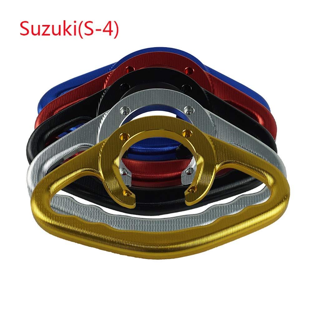 Couleur : Noir ZHENDA Pour Suzuki GSXR400 600 750 1000 1100 SV650 CNC Aluminium Moto Passager Poign/ées Poign/ée Grip R/éservoir Poign/ées Poign/ée Accoudoir