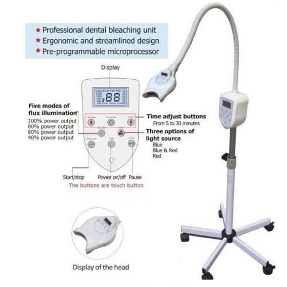Doc.Royal Teeth Whitening Accelerator MD-669 Digital Display Teeth Whitening Bleaching Whitening Mobile Lamp Machine by Doc.Royal (Image #1)