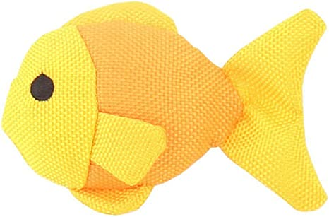 Freddie the Fish made from Recycled Plastic Bottles with North American Catnip Beco Catnip Toy Toy for Cats