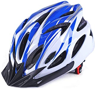 LJSHU Uomini e Donne della Bicicletta Casco di Sicurezza Tipo di Ventilazione Anti-Shock Leggero per la Circonferenza della Testa 56-62cm Casco,A